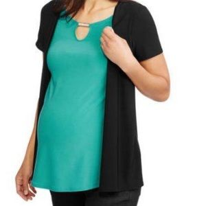 Promises Maternity Key Hole Top